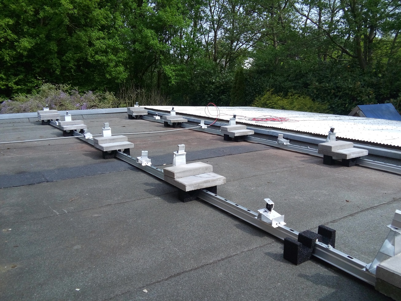 Montage systemen zonnepanelen