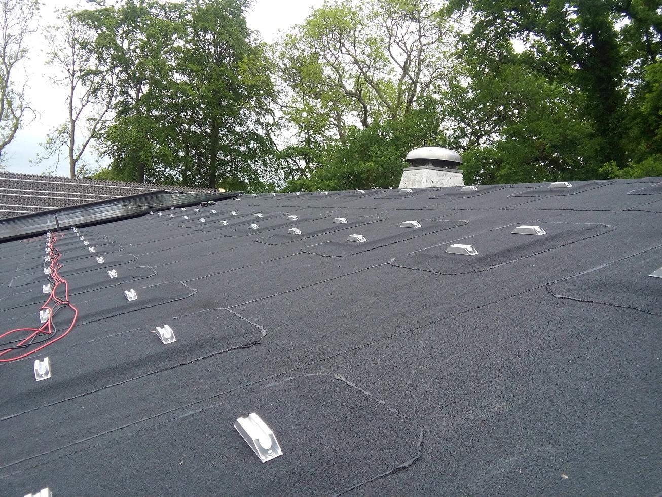 Zonnepanelen montage systeem