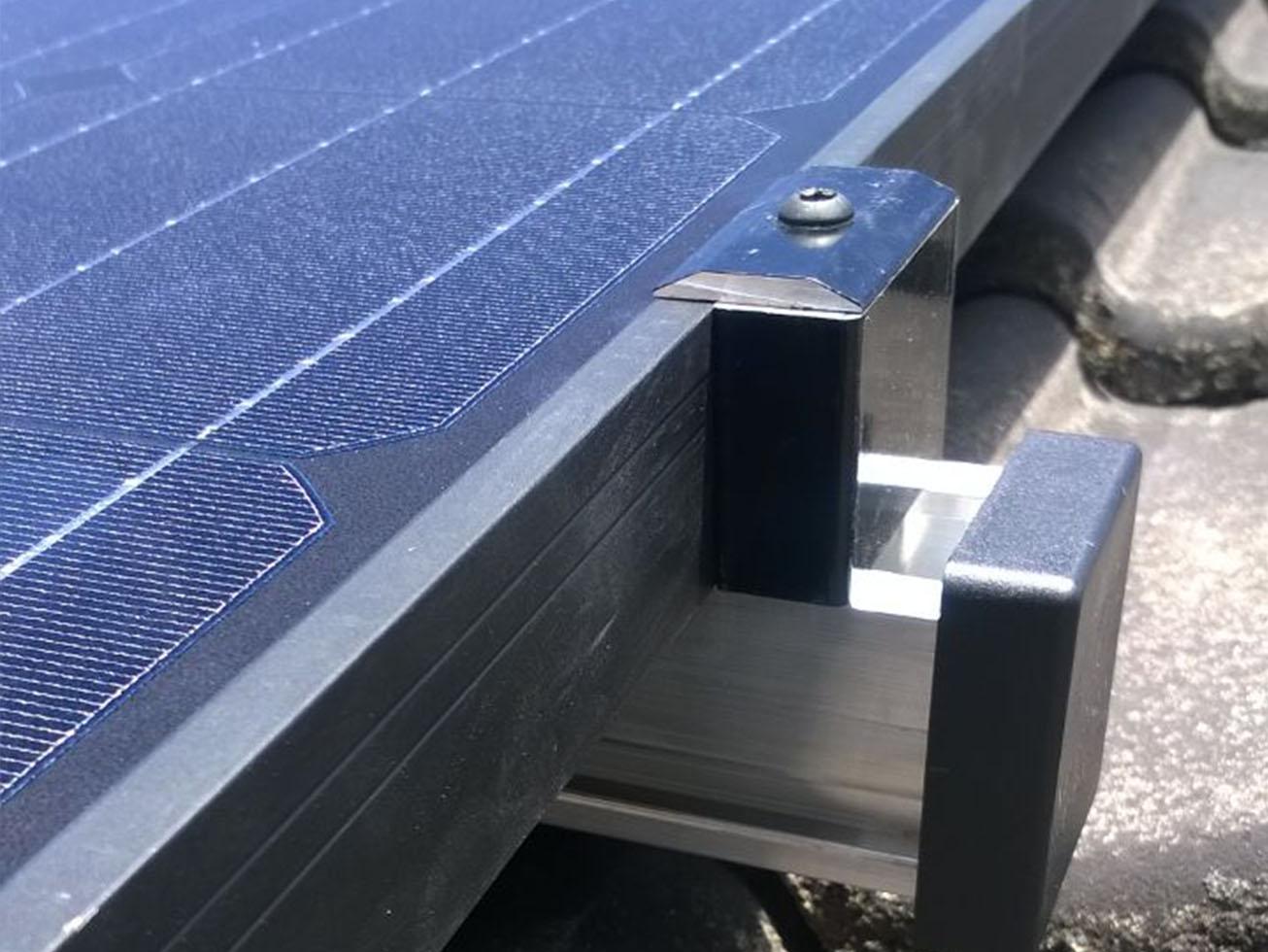 Zonnepanelen bevestigingsmateriaal